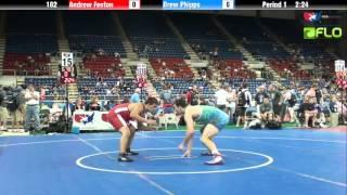 Cadet 182 - Andrew Fenton (Ohio) vs. Drew Phipps (Pennsylvania)