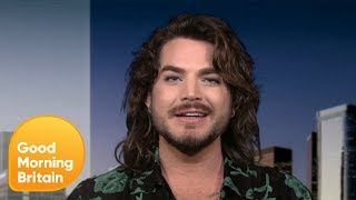 Adam Lambert Returns With Solo Single 'New Eyes' From New Album 'Velvet' | Good Morning Britain