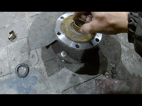 Осадка втулки без райбера в цапфу ступицы УАЗ Патриот