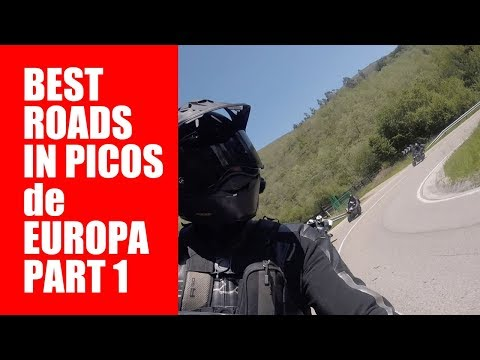 ChickenStrips European Motorcycle Tours Picos Playtime - Best Roads in Picos de Europa May part 1