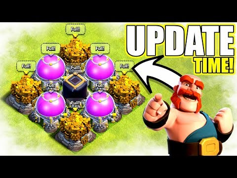 MORE GOLD AND ELIXIR THEN EVER BEFORE.........NEW UPDATE LIVE! - Clash Of Clans