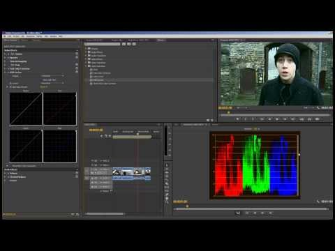 How To Use Color Correction Adobe Premiere Pro CS6 Video Editing RGB Curves Luma Curve 2013