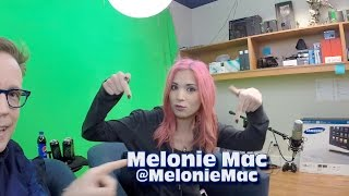 Ratchet amp; Clank TwitchTV with Melonie Mac amp; James Arnold Taylor BTS