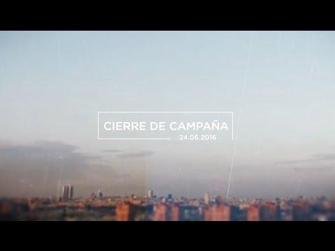 Acompáñanos en el cierre de campaña: 24 de junio en Madrid