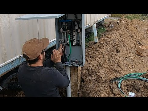 DIY Electrical Service Installation: 200 Amp Main Breaker ( Electric Service )