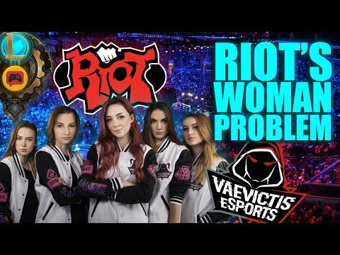 Riot Warns Two Teams for Destroying the All Female Vaevictis Lineup