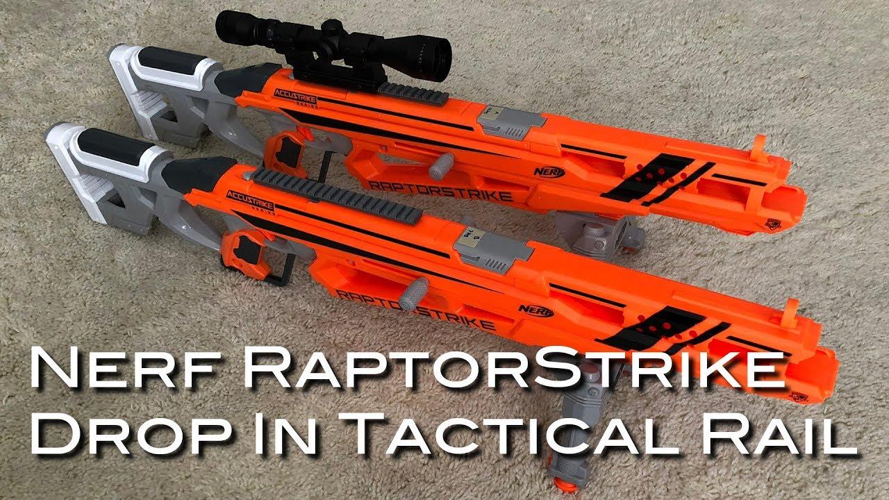 Nerf RaptorStrike Drop In Tactical Rail