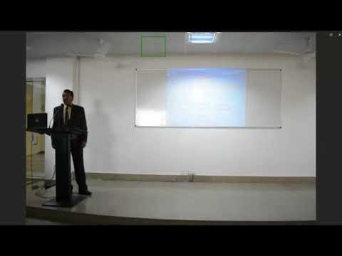 Seminar on Banking and Insurance sector of India by Mr. Akshay Pandey.