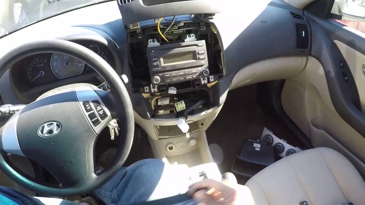 Replacing Elantra HVAC  Blower Control Module 2007  2010