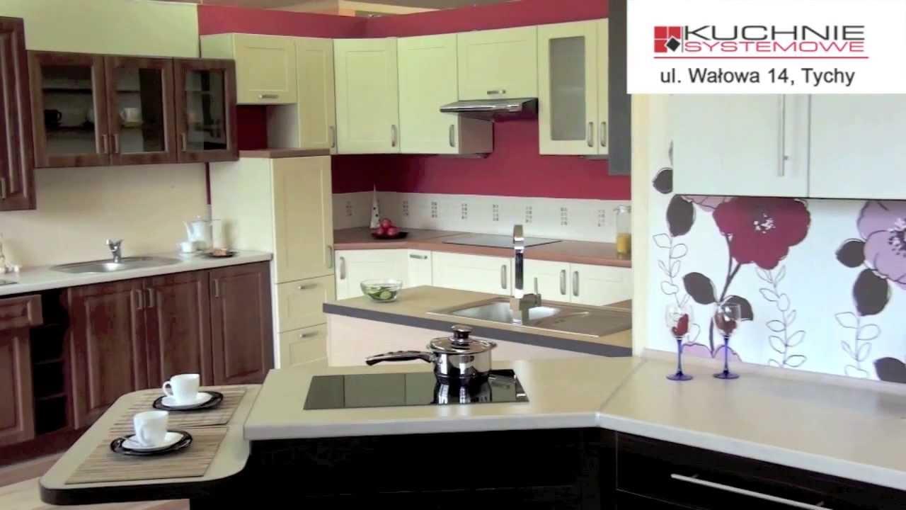 Salon wystawowy kuchni pod zabudowę  Tychy, ul Wałowa 14  YouTube