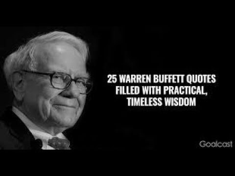 Warren Buffett's Best Advice for 2015
