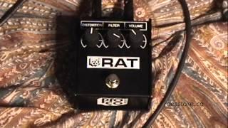 Pro Co Rat '85 White Face Reissue Pedal Demo