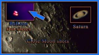 Saturn Filmed In UV, IR & Visual Spectrum Plus A Strange Balloon Out-Gasses