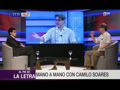 Camilo Soares en un mano a mano con Santiago González en 'Al Pie de la Letra'