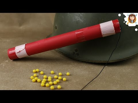 Airsoft Dynamite Made of Paper - (Tnt Prank - DIY - Works)
