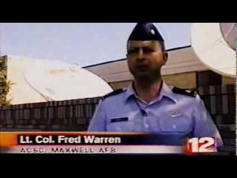 "Air University Television ""Silent Fury"" News Clip - WSFA Channel 12 Montgomery, Alabama"