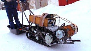 Электро снегоход который ВАЛИТ!!