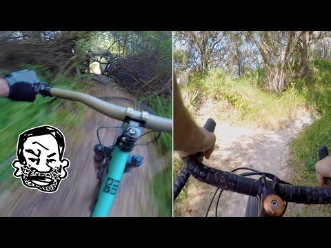 Demo Bikes, Orange P7 First Ride, MTB Trails In Tampa - RWS EP7