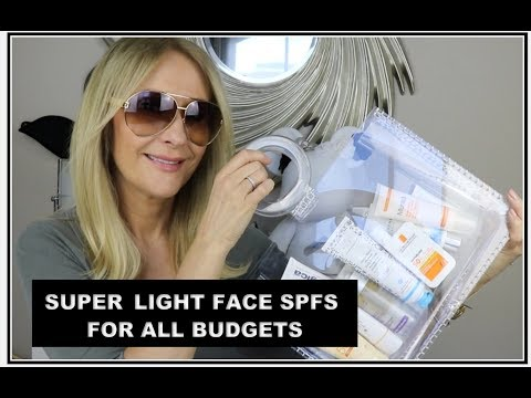 LIGHTWEIGHT EVERY DAY FACE SPFS FOR ALL BUDGETS