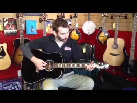 Jack Daniels Peavey Acoustic Guitar Jd Ag1 Music Lessons Youtube