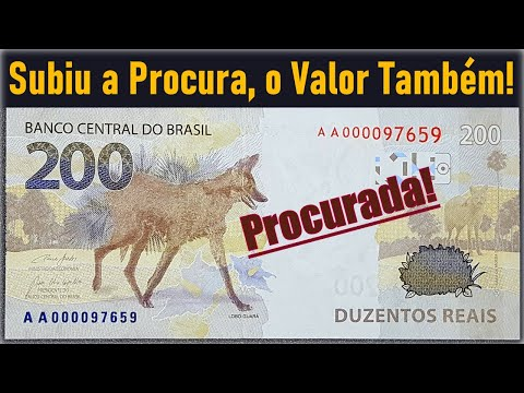 Últimas Notícias: Nota 200 Reais valendo R$ 300,00 e cédula ainda não saiu de circulação! Pesquisa..