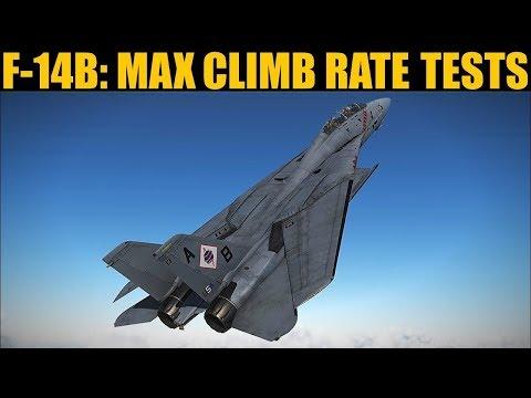 F-14B Tomcat: RE-TESTED Max Climb Rate | DCS WORLD - Grim