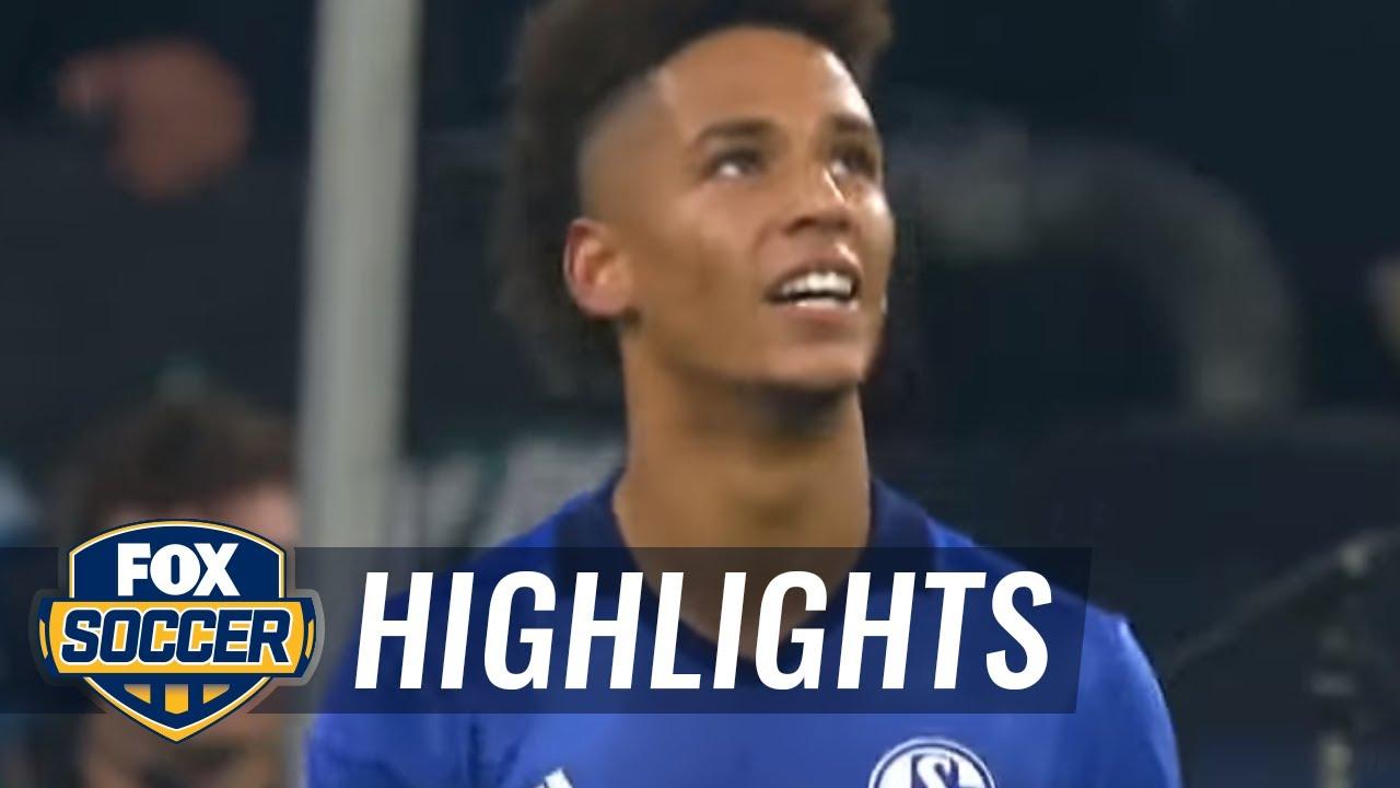 james-rodriguez-scores-his-first-bayern-goal-vs-schalke-2017-18-bundesliga-highlights