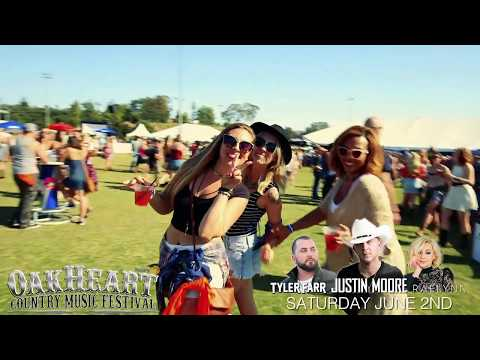 The 2018 OakHeart Country Music Festival returns Saturday June 2nd