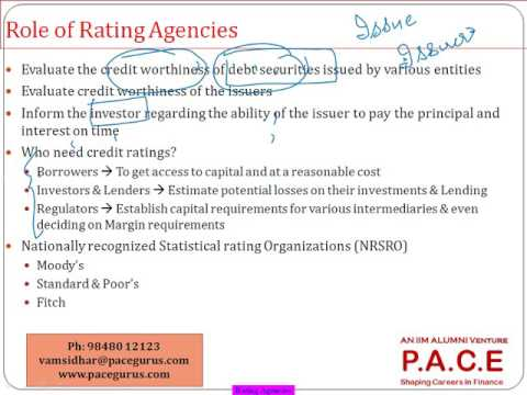 The Rating Agencies
