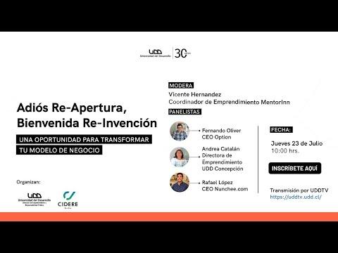 Adiós Re-Apertura, Bienvenida Re-Invención