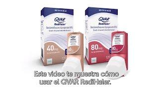 Cómo usar el inhalador QVAR RediHaler