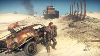 Mad Max free roam gameplay for PS4