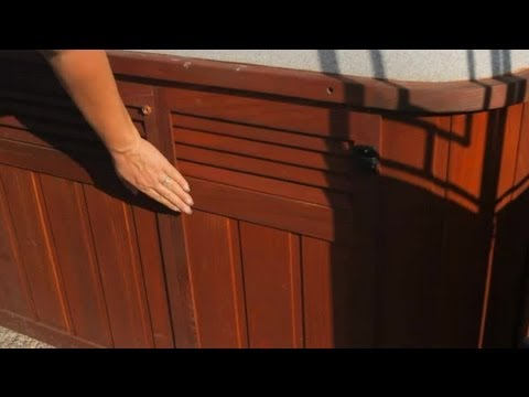 How To Replace Hot Tub Siding Hot Tub Tips Youtube