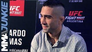 UFC Fight Night 140: Ricardo Lamas media day interview