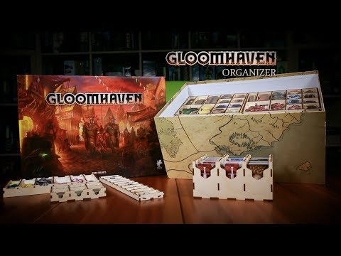 Gloomhaven Organizer Product Tour *update! (First Edition Game)