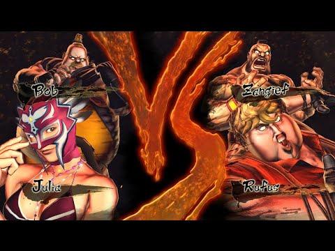 Street Fighter X Tekken - Model Swap (MOD)