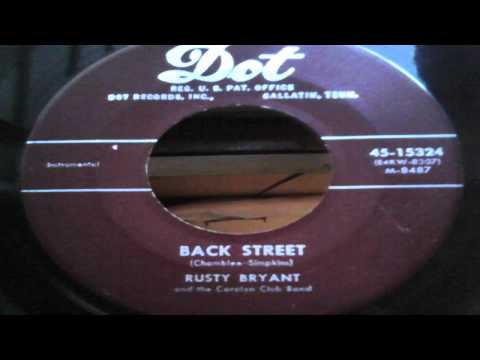 Back Street b/w Record Delivery Blues - Rusty Bryant (Dot)