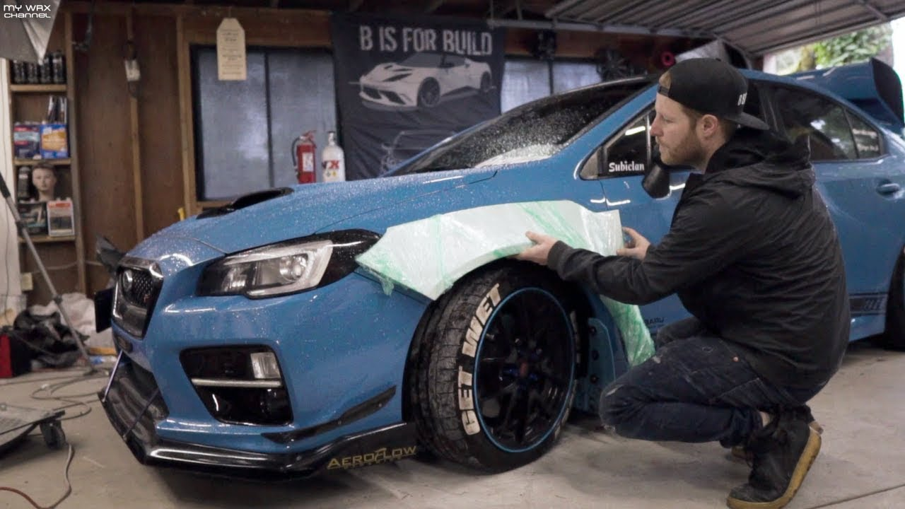 Goodbye Subaru Sti B Is For Build Doing The Widebody 4k