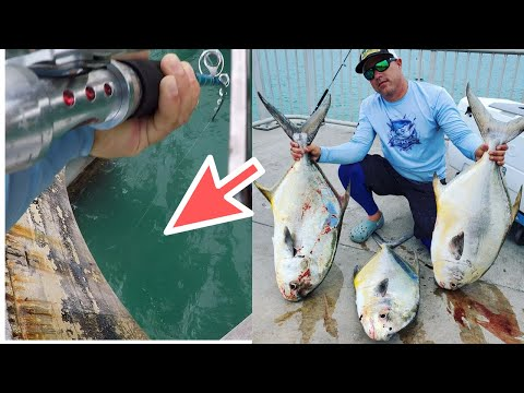 Must Watch, INSANE Permit Fights BACK TO BACK, Florida Keys Permit Fishing.