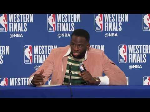 Draymond Green Postgame Interview | Rockets vs Warriors Game 3
