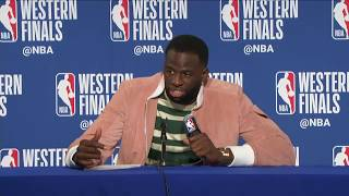 Draymond Green Postgame Interview | Rockets vs Warriors Game 3
