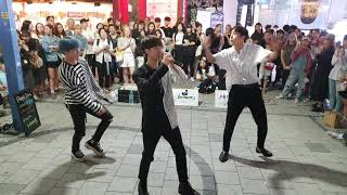 Download lagu 비에이블-유원(YooONE),강레오(KangLeo),로운(rowoon)/ COVER DANCE 20190901 홍대(Hongdae) 버스킹(Busking)