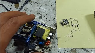 Wireless amplifier charger failure and repair# no output voltage