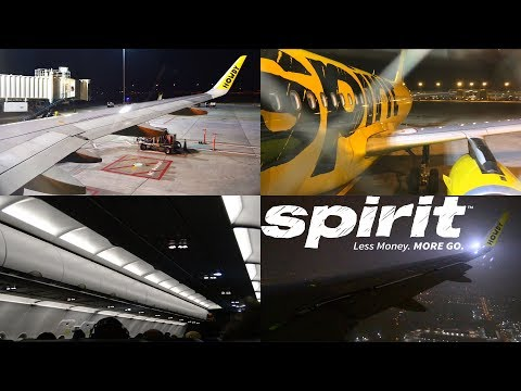 TRIP REPORT: My Funny Spirit Airlines Experience   Denver to Dallas   Airbus A320   NK 720   Economy
