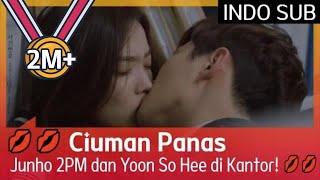 💋💋 Ciuman Panas Junho 2PM dan Yoon So Hee di Kantor! 💋💋 #Memory 🇮🇩SUB INDO🇮🇩