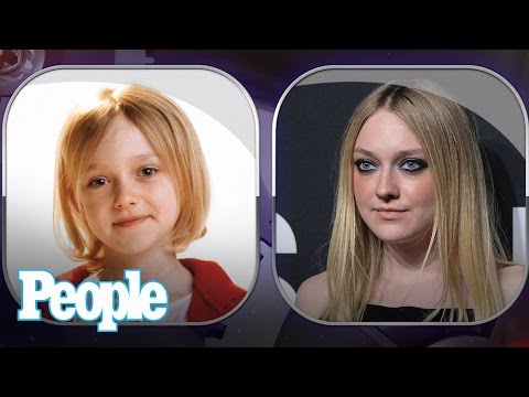 Dakota Fanning's Evolution of Looks | Time Machine | PEOPLE