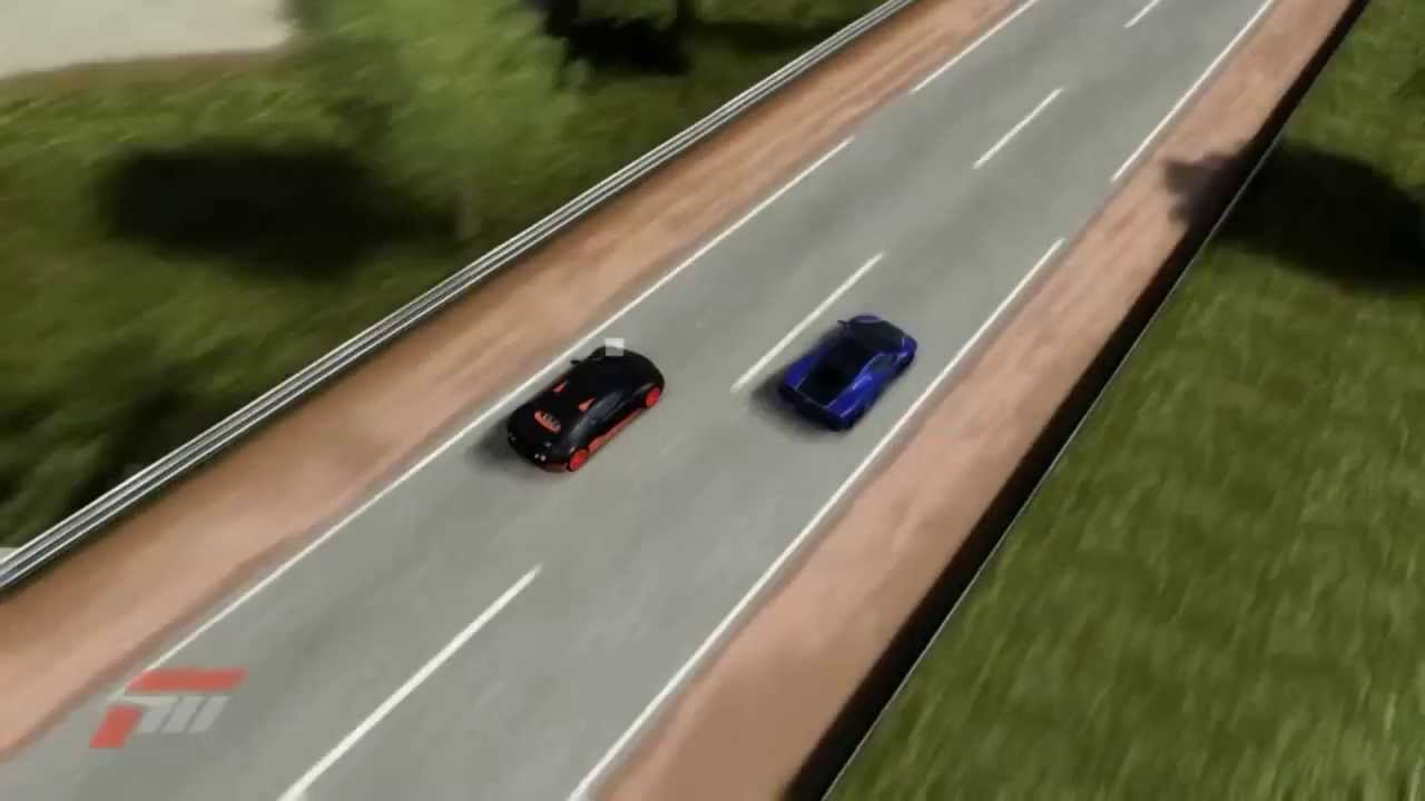 Forza 4: Bugatti Veyron SuperSport vs SSC Ultimate Aero ...