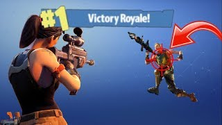 Fortnite #1 Victory Royale! How to complete getting three kills in Flush Factory.