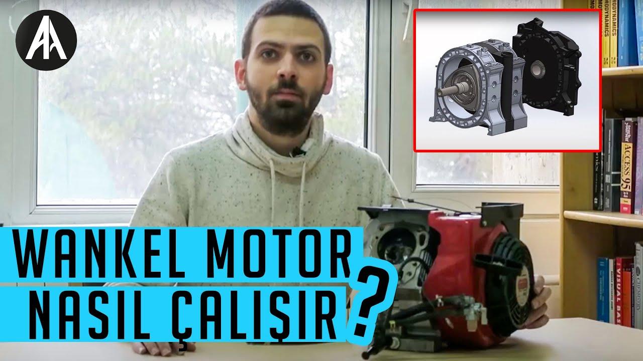 Ne Nedir Wankel Motor Nas L Al R Youtube