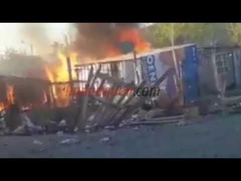 Barrio Hipódromo: le incendiaron la casa a una banda de delincuentes